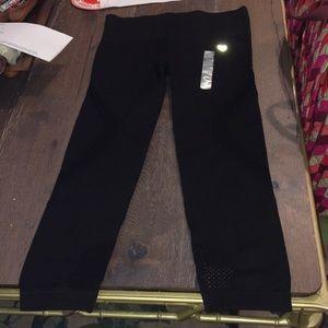 Forever 21 Black Legging Capris